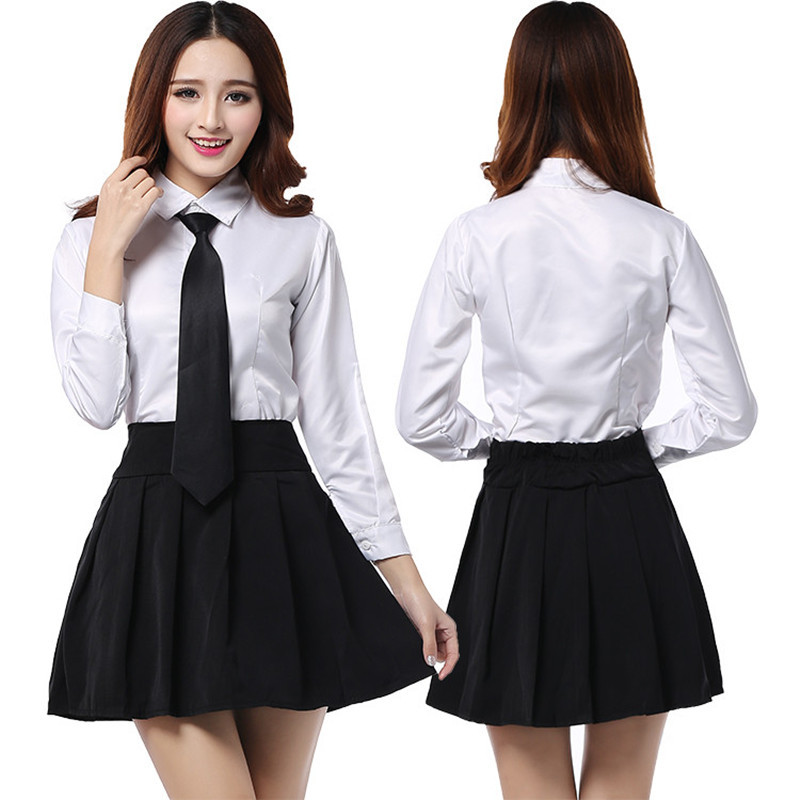 Sexy Lady High School Girl Dress Uniform Women Adult Costume Full Outfit Japan Cosplay -1988