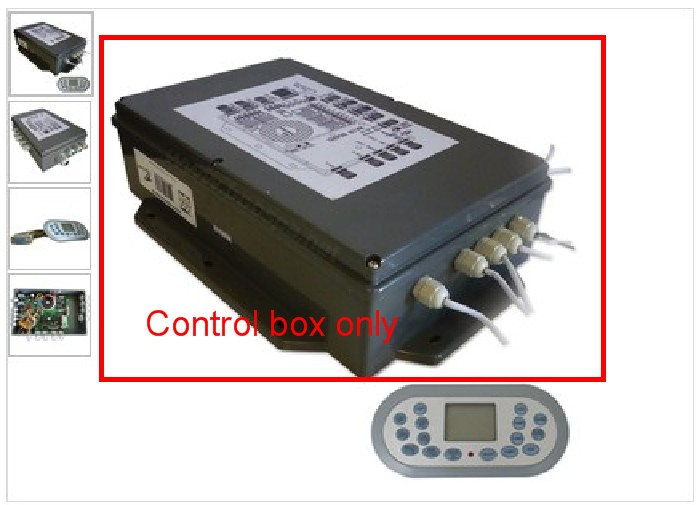 Chinese Spa controller box Pack KL8-2 suitable JNJ Spa-8028 Yuehua hot tub