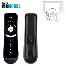 T2 Remote Control Gyroscope Mini Fly Air Mouse 2.4G Wireless receiver for 3D Sense Game PC Google TV Player(China)