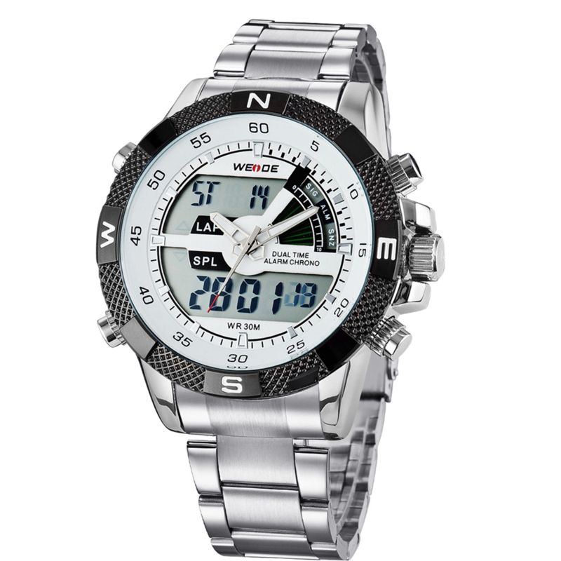 WEIDE Πολυτελή μάρκα ανδρών ρολόι LED - Ανδρικά ρολόγια - Φωτογραφία 2