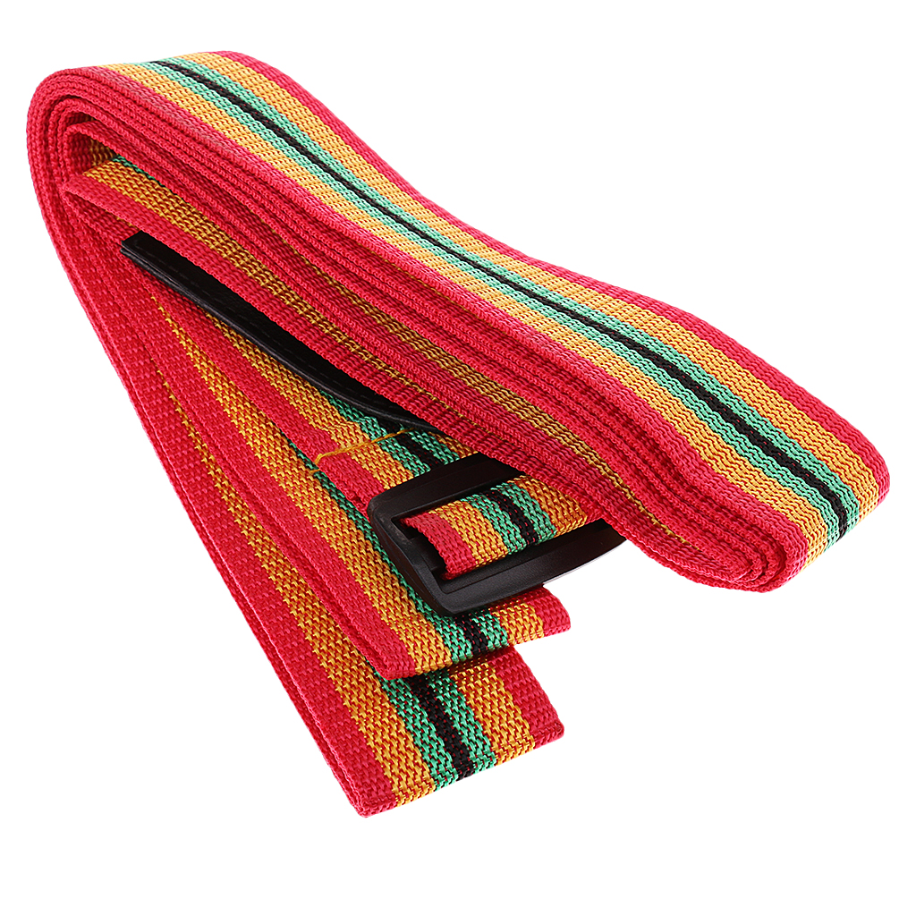 1 Pcs 336cm Portable Trichromatic Djembe Cotton Strap Belt African Hand Drum Musical Percussion Accessory