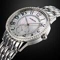 OCHSTIN Mulheres De Cristal Relógio de Senhoras Relógio Das Mulheres Relógio À Prova D' Água de Aço Cheio de Luxo Link Pulseira Quartz Relógio de Pulso Relojes Mujer