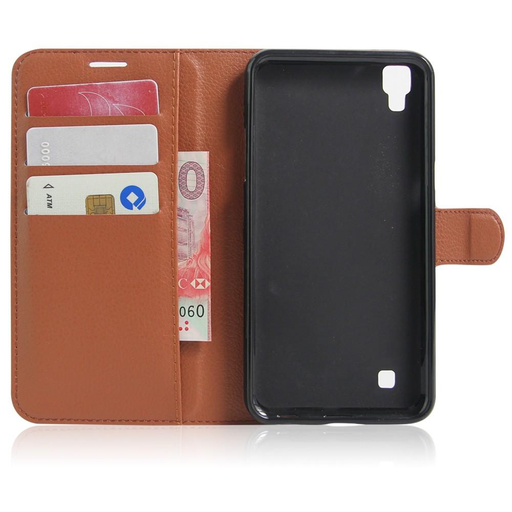 Dla lg x power k220ds case odwróć portfel pu skórzane etui telefon dla lg x power k210 k220 pokrywa uchwyt stojak telefon fundas ls755 torba 5