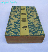 Collection Tibetan Classic Old Calligraphy Painting Tibetan Thangka Figure Book Painting 20 Picture Book 00002