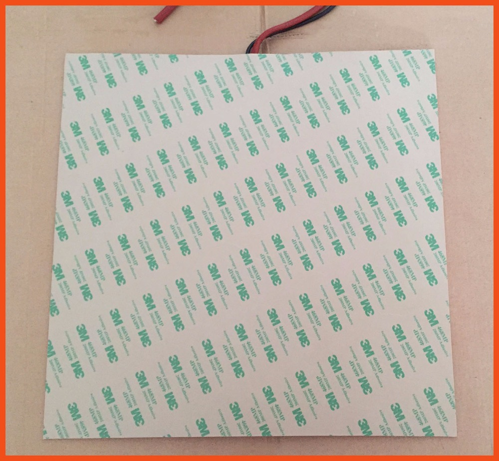 100 x 100mm 50W 220V Wholesale Silicone Rubber Heater with thermistor Heating Element heating mat oil heater heating element pad 100 x 100mm 50w 220v wholesale high quality flexible silicone heater mat heating element 3d print heated bed flexible heater pad
