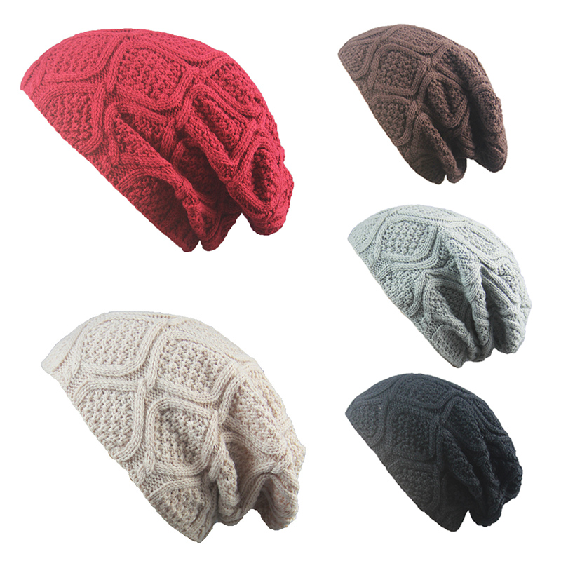 men Beanies Hat Bonnet Beanies Knitted Hat Winter Caps Skullies For Women Men Warm Baggy Cap slouchy gorros mujer invierno 3pcswinter beanie women men hat women winter hats for men knitted skullies bonnet homme gorros mujer invierno gorro feminino