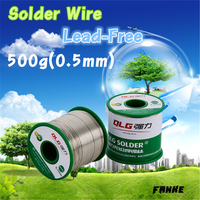 1 Pcs 450g Lead Free Solder Wire Soldering Welding Sn 0 7Cu 0 5mm