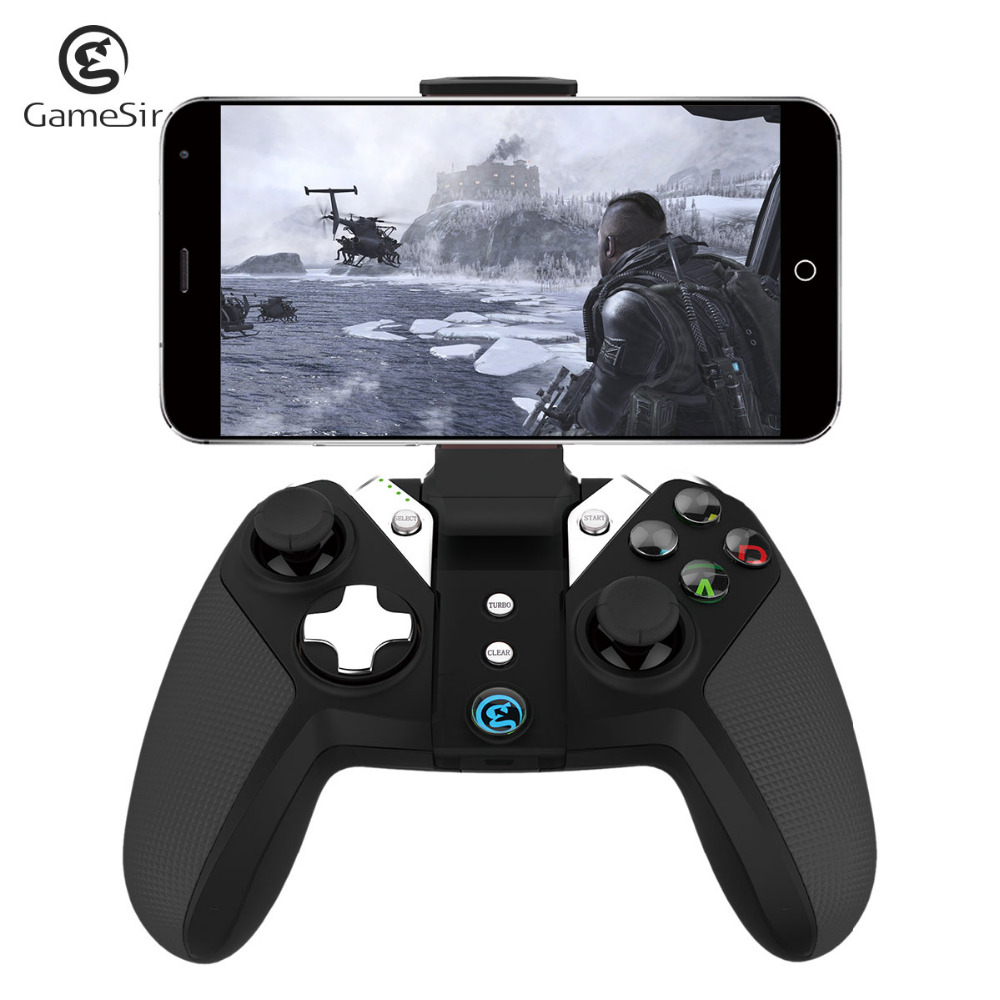 GameSir G4 Wireless Bluetooth Gamepad Controller for PS3 Android TV BOX Smartphone Tablet PC VR Games