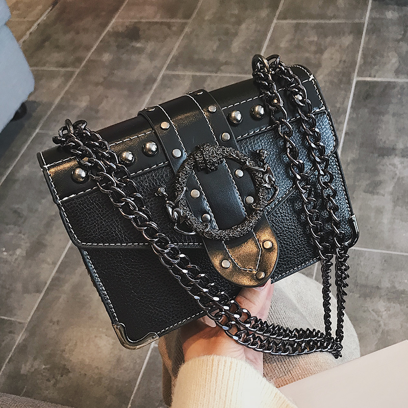 Euro Fashion Rivet Lock Bag 4