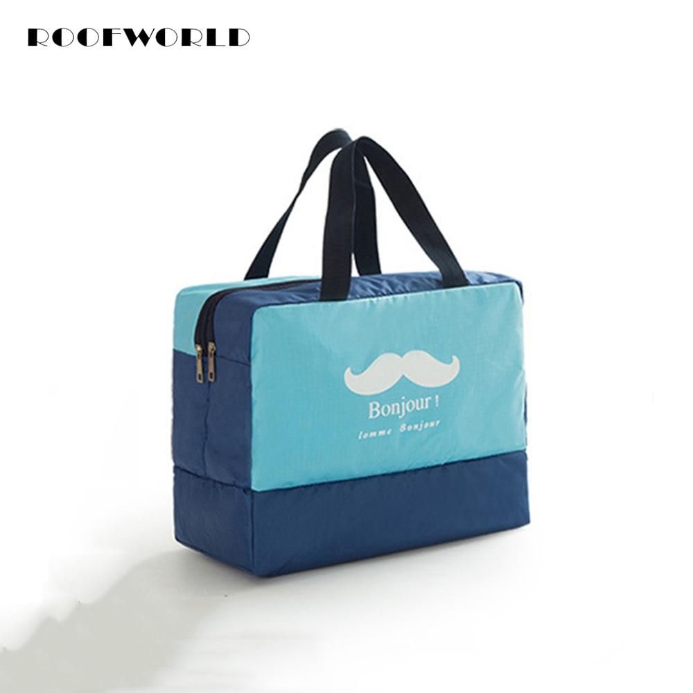 4 색 방수 건조한 젖은 분리 된 가방 남성 여성 수영 수영 신발 가방을 표류하는 수영복