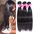 "3pcs/lot Malaysian virgin hair straight 100% human hair weave 8""-30"" malaysian straight hair cheap malaysian hair very soft"
