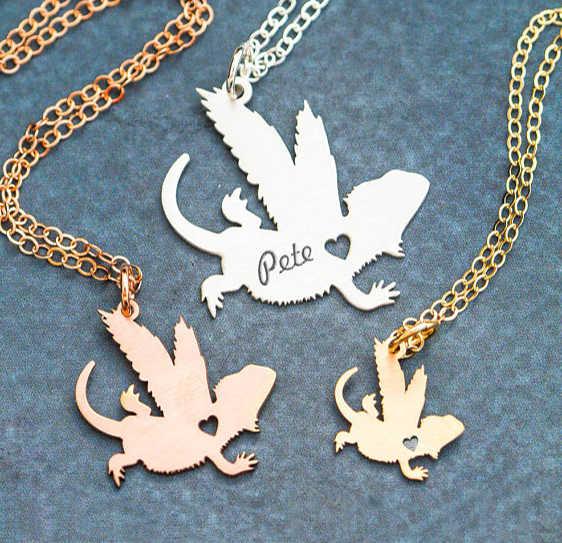 Lizard Gifts Lizard Lovers Lizard Initial or Name Memorial Keychian Free Shipping Pet Loss Jewelry Lizard Lovers Gifts Pet Loss Gifts