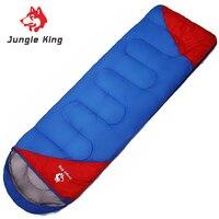 Jungle King Envelope Type Portable Travelling Splicing Camping Sleeping Bag Hollow Cotton Filling Warm Outdoor Sleeping