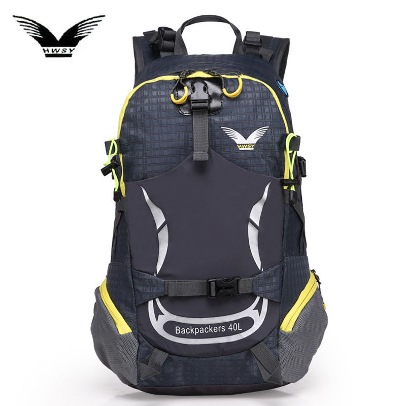 40L Outdoor Sports Backpack Camping Hiking Waterproof Bags Mountaineering Hunting Travel Backpack Sport Bag Nylon Rucksack X98WA cs force 1000d nylon molle hunting bags sport single shoulder bag men sport camping hiking hunting waist bags messenger bag
