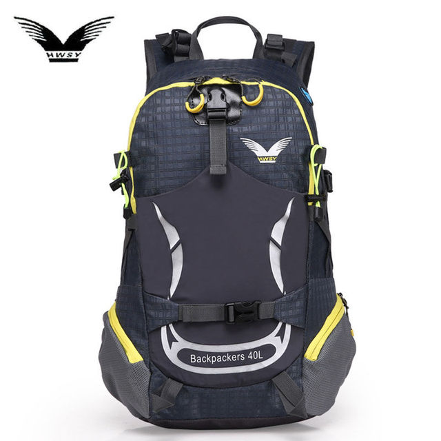 40L Outdoor Sports Backpack Camping Hiking Waterproof Bags Mountaineering  Hunting Travel Backpack Sport Bag Nylon Rucksack X98WA dd898e67c6c7f