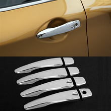 Exterior Door Handles Bowl Cover Trim Protection Sticker For Nissan Qashqai J11 20114 2015 2016 2017 With/Without Smart Keyhole