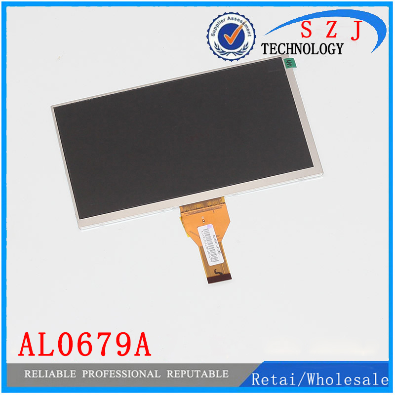 New 7 inch LCD display matrix 3G Tablet AL0679A 30pins inner LCD Screen Panel Module Replacement Free Shipping new lcd display matrix for 7 nexttab a3300 3g tablet inner lcd display 1024x600 screen panel frame free shipping