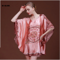 New Silk Kimono Maternity Robe Bathrobe Women Faux Silk Bridesmaid Sleep Wear Satin Nightwear Ladies Dress Gowns Pijamas