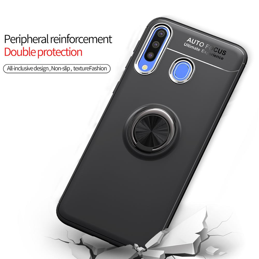Image 5 - Magnet Ring Case For Samsung Note 10 A10 A30 A20 A50 A70 Shockproof Cover On Samsung j3 j5 j7 pro 2017 s10 lite plus Note10 pro-in Fitted Cases from Cellphones & Telecommunications