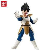 Japan Anime Dragon Ball Z Original BANDAI Tamashii Nations SHODO SHOKUGAN Vol.4 Action Figure Vegeta (9cm tall)