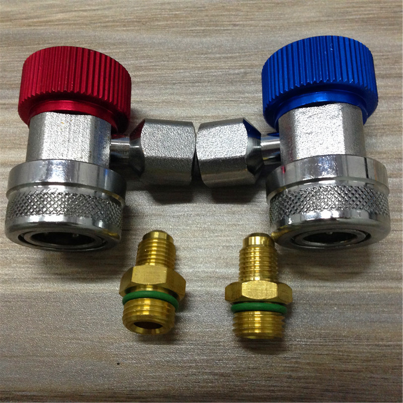 STARPAD raccords de connexion en fluorure | Raccords de climatisation réglables conversion de la bouche, raccord rapide réglable - 3