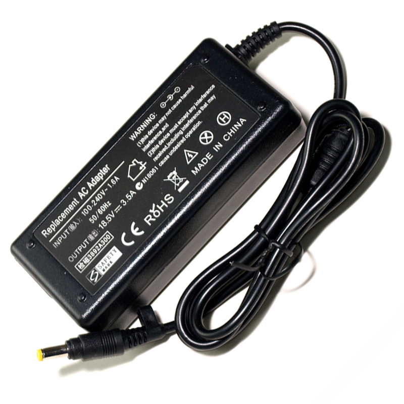 18.5V 3.5A AC Laptop Adapter Charger For HP Laptop