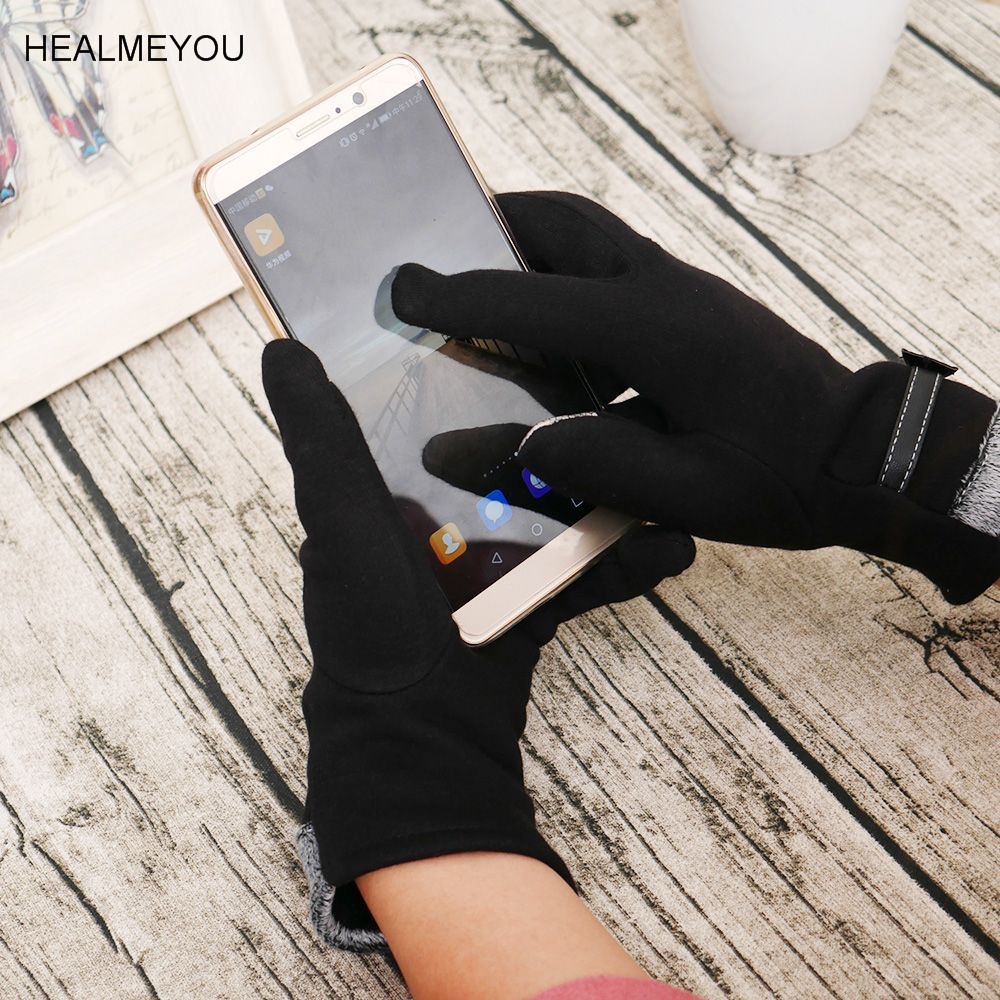 Women Winter Gloves Touch Screen Warm Gloves Outdoor Driving Gloves Mittens Gift