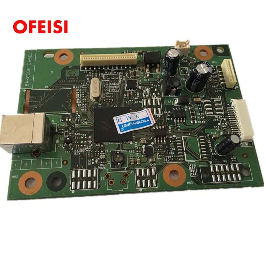 CE831-60001 Formatter PCA Assy placa formatadora lógica placa principal placa base para HP M1136 M1132 1132 1136 M1130 - 4