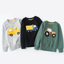 Sweater For Toddler Girls Winter Long Sleeve Cartoon car Baby Boy Knitted Cardigan Hairball Tops Clothes Christmas 1-6 years hot sale winter warm toddler kids baby girls outfit clothes long sleeve button knitted sweater cardigan coat tops cute pink