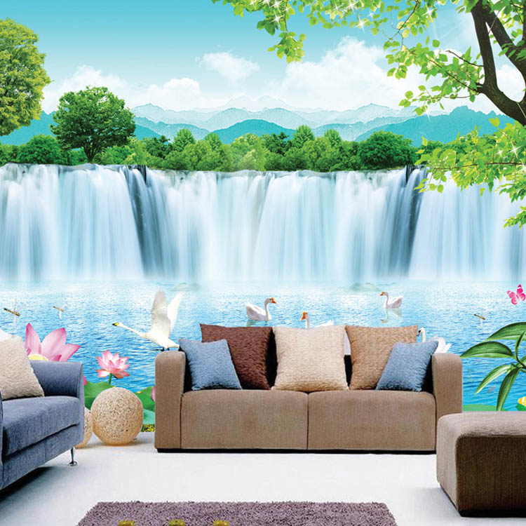 Buy modern minimalist 3d wallpaper sea for 3d wallpaper for living room india