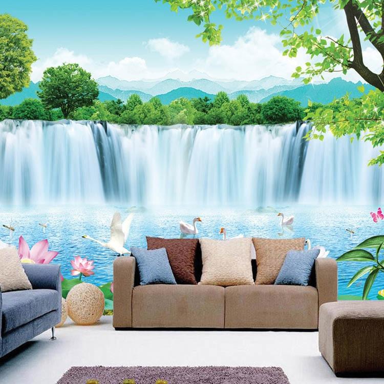 Aliexpress.com : Buy Modern minimalist 3d wallpaper sea vinyl wallpaper waterproof wallpaper ...