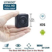 Full HD Video 1080P DV DVR Mini Camera Wifi Wireless IP Micro Camcorder With Invisible Night Vision and Motion Sensor PK C1 Cam(China)