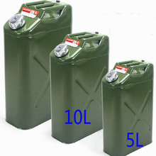 UNIVERSAL rustproof iron Petrol Cans car motorcycle fuel tank oil catch can WITH HOSE Standby container 5L 10L