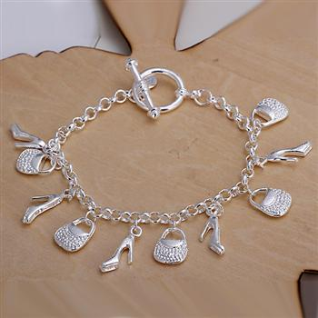 925 Silver Bracelet Jewelry...