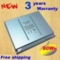 "Envío gratis batería ordenador portátil del reemplazo A1175 MA348 para Apple MacBook Pro 15 "" A1150 A1260 MA463 MA464 MA600 MA601 MA610 MA609"