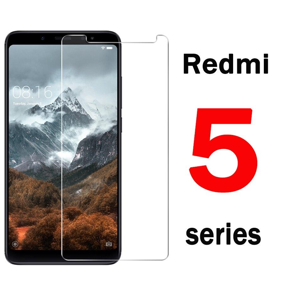 Tempered Glass For Xiaomi Redmi Note 5 For Xiaomi Redmi Note 5 Pro 5 Plus 5A Xiomi Xaomi Protective Glass Screen Protector Film