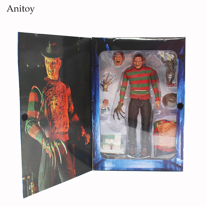 NECA A Nightmare on Elm Street 3: Dream Warriors PVC Action Figure Collectible Model Toy 7 18cm KT3424 neca god of war 3 kratos 18 inches kratos ghost of sparta pvc action figure collectible model doll toy with box