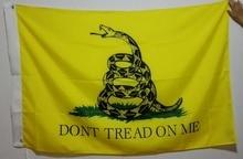 Flag custom DON'T TREAD ON ME Hot Sell Goods 3X5FT 150X90CM Banner brass metal holes