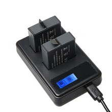 Battery Charger With LCD For Gopro Hero 5