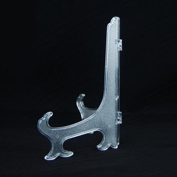 (10pcs / lot) Transparent Clair 4 pouces En Plastique Affichage - Organisation et stockage dans la maison - Photo 3