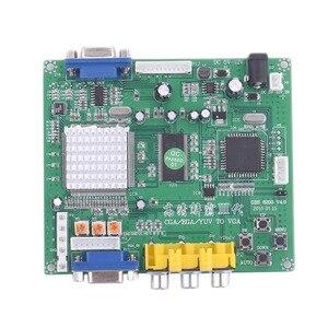 Аркадная игра высокой четкости CGA/EGA/RGBS/RGBHV/YUV/YPBPR в VGA HD, плата преобразователя видео со стандартным выходом VGA для GBS-8200