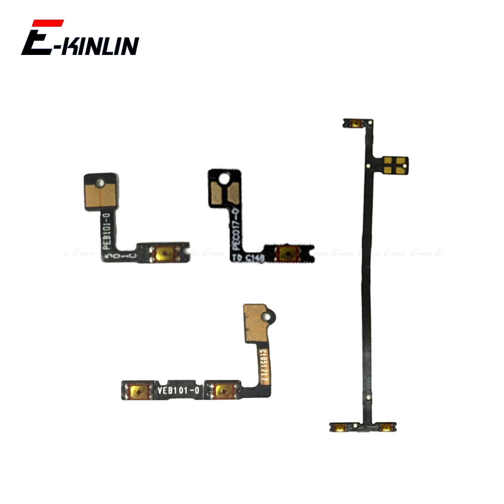 100% New Volume Button Power Switch On Off Key Ribbon Flex Cable For OnePlus X 1 2 3 3T 5 5T 6 6T 7 Pro Replacement Parts