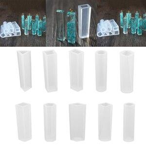 5 стилей DIY силиконовой формы из смолы с 100 штук винтовые заколки для глаз Набор для изготовления ювелирных изделий ожерелье кулон инструмен...