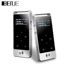 BENJIE S5 OLED Screen MP3 Player Touch 8GB APE FLAC High Sound Quality Entry-level Lossless Music Player with FM Radio Recorder