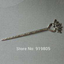 China Tibetan hand-made silver ornaments/Tibetan hair  Arts and crafts