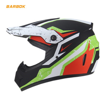 Off Road Racing Motocross Helmets for Adult Full Covered Foam Lining Protection Dirt Bike Moto Motorcycle Race Safety Caps