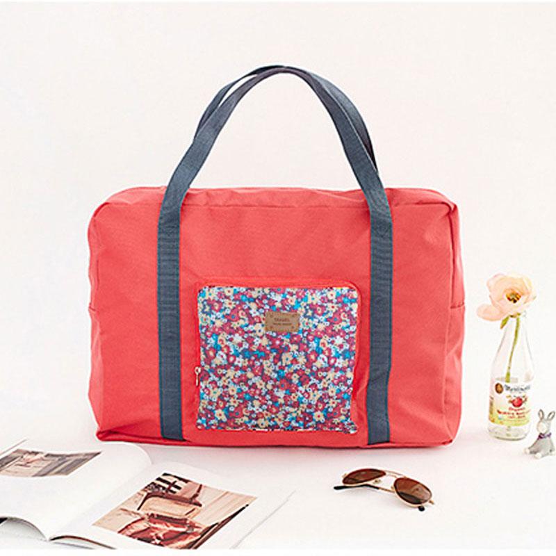 Yesello Polyester Folding big Capacity Travel Bag Clothes Bag Moving House Bag