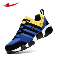 Plus Size Running Shoes Fight Color Men Sneakers Athletic Gym Trainers Cushioning Men Sport Shoes Zapatillas