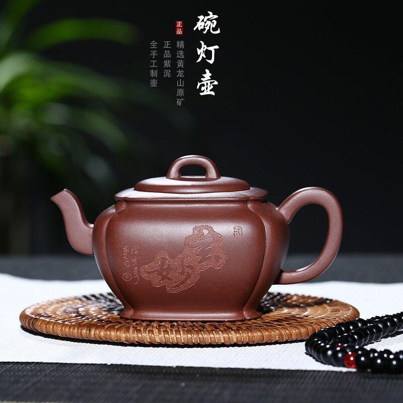 Yixing purple clay teapot