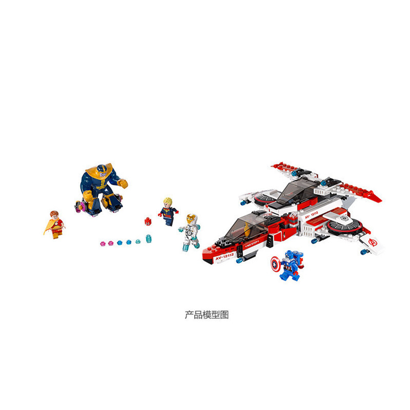 Lepin 07022 522Pcs Super heroes Series  The avengers aircraft  Building Blocks Set  Bricks Toys For Children super heroes angel spike willow corderlia buffy the vampire slayer series building blocks collection toys for children kf6018